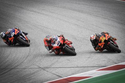 One of the most thrilling final corners in MotoGP™ history