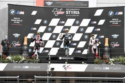 """""""This is the best day of my life"""" - Moto3™ rostrum round-up"""