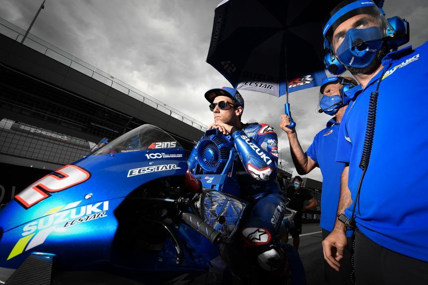 Alex Rins, Team Suzuki Ecstar, BMW M Grand Prix of Styria