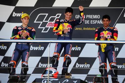 La Red Bull MotoGP Rookies Cup, une pépinière à Champions