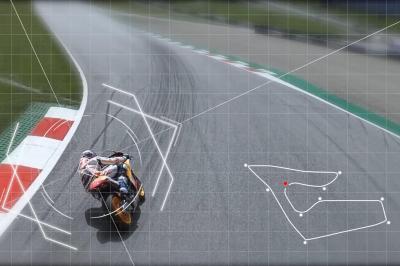 Quand A. Márquez fait la course avec un drone à Spielberg...