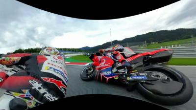 Enjoy again the start of the race in 360 from Nakagami POV!