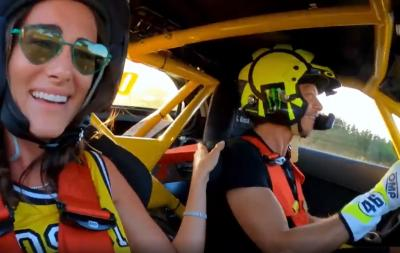"""Good fun with 700HP at the """"Graziano Rossi drifting track"""""""