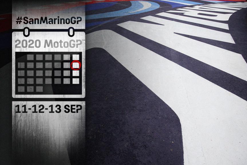 Calendar 2020 SanMarinoGP