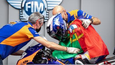Il Red Bull KTM Tech3 è impaziente di tornare in azione