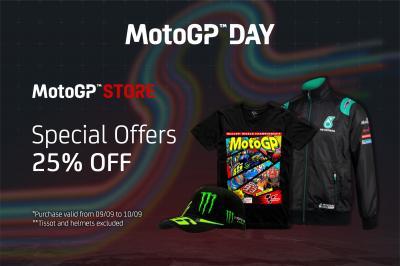 Il 9 e il 10 settembre si celebra il MotoGP™ Day
