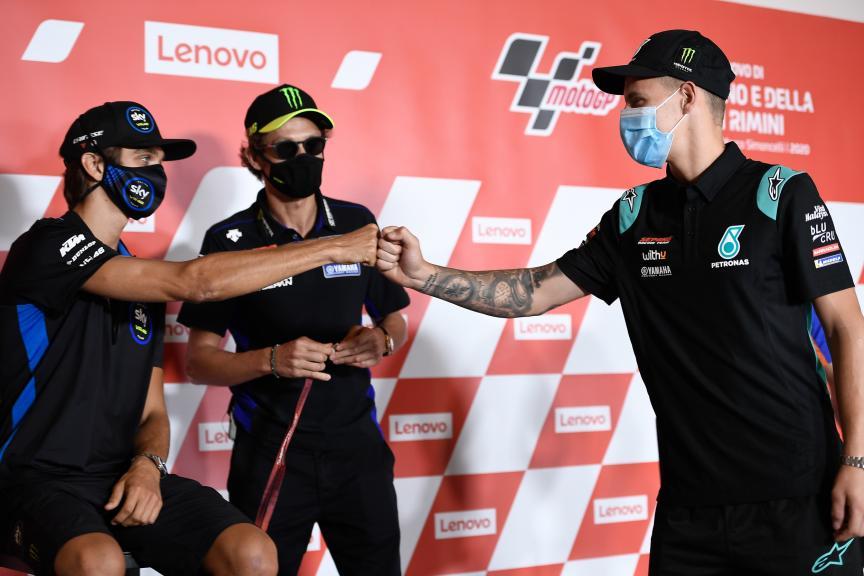 Press-Conference, Gran Premio Lenovo di San Marino e della Riviera di Rimini