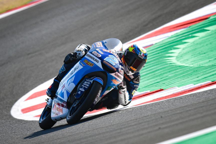 Gabriel Rodrigo, Kőmmerling Gresini Moto3, Gran Premio Lenovo di San Marino e della Riviera di Rimini
