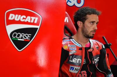 Dovizioso left totally perplexed by his Ducati's feeling