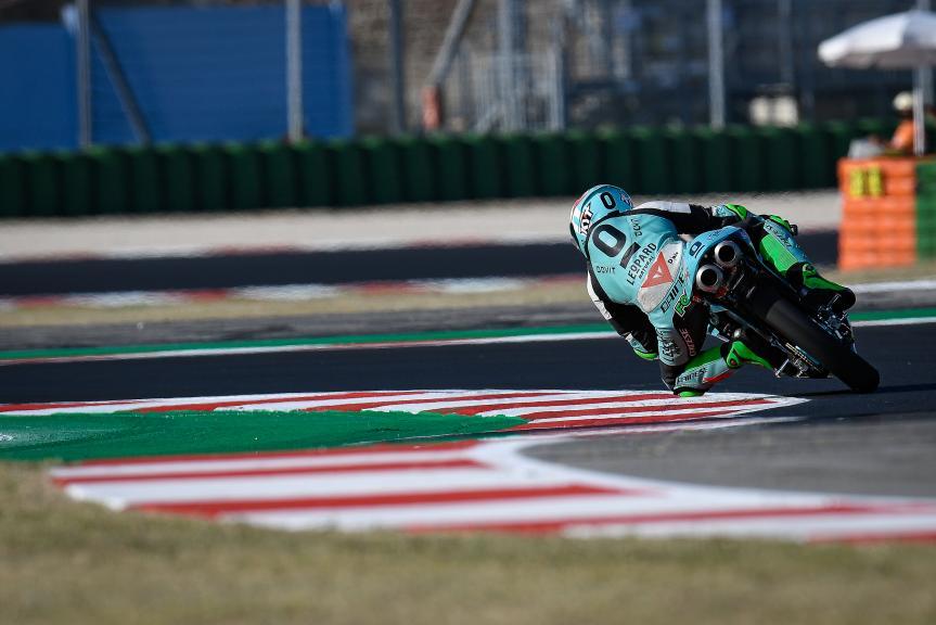 Dennis Foggia, Leopard Racing, Gran Premio Lenovo di San Marino e della Riviera di Rimini