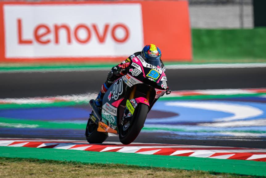 Jorge Navarro, Speed Up Racing, Gran Premio Lenovo di San Marino e della Riviera di Rimini