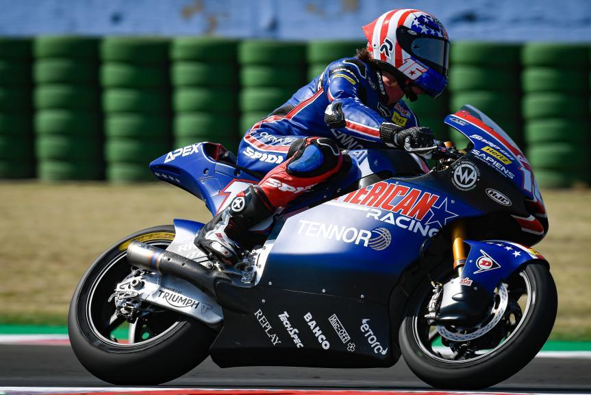 Joe Roberts, American Racing, Gran Premio Lenovo di San Marino e della Riviera di Rimini