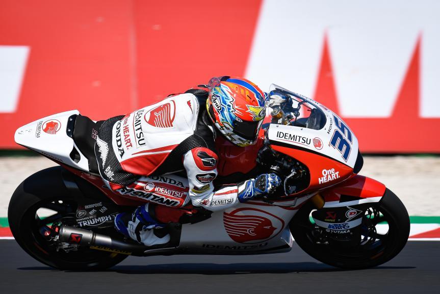 Somkiat Chantra, Idemitsu Honda Team Asia, Gran Premio Lenovo di San Marino e della Riviera di Rimini