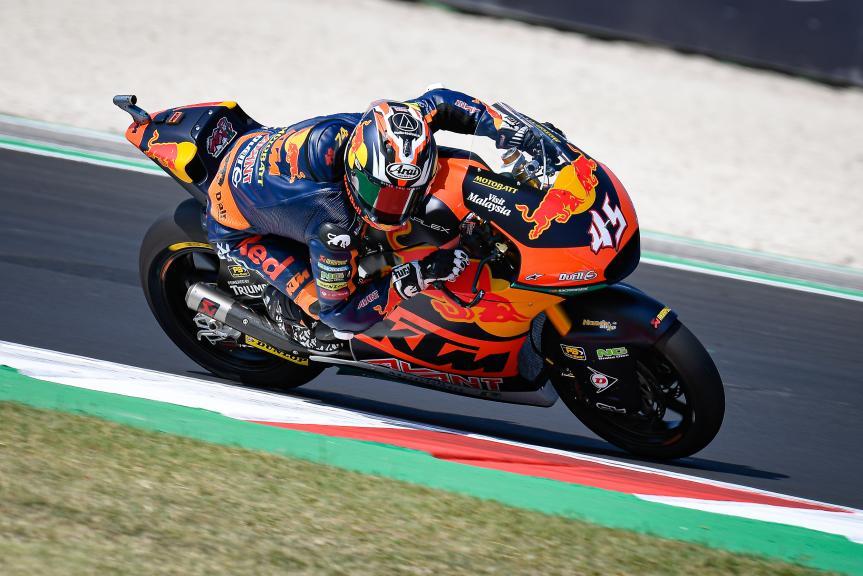 Tetsuta Nagashima, Red Bull KTM AJO, Gran Premio Lenovo di San Marino e della Riviera di Rimini