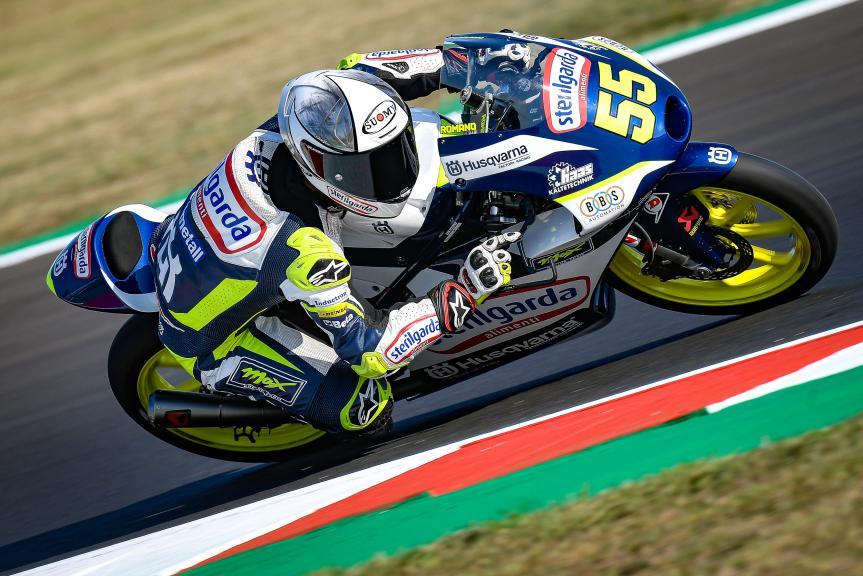 Romano Fenati, Sterilgarda Max Racing Team, Gran Premio Lenovo di San Marino e della Riviera di Rimini