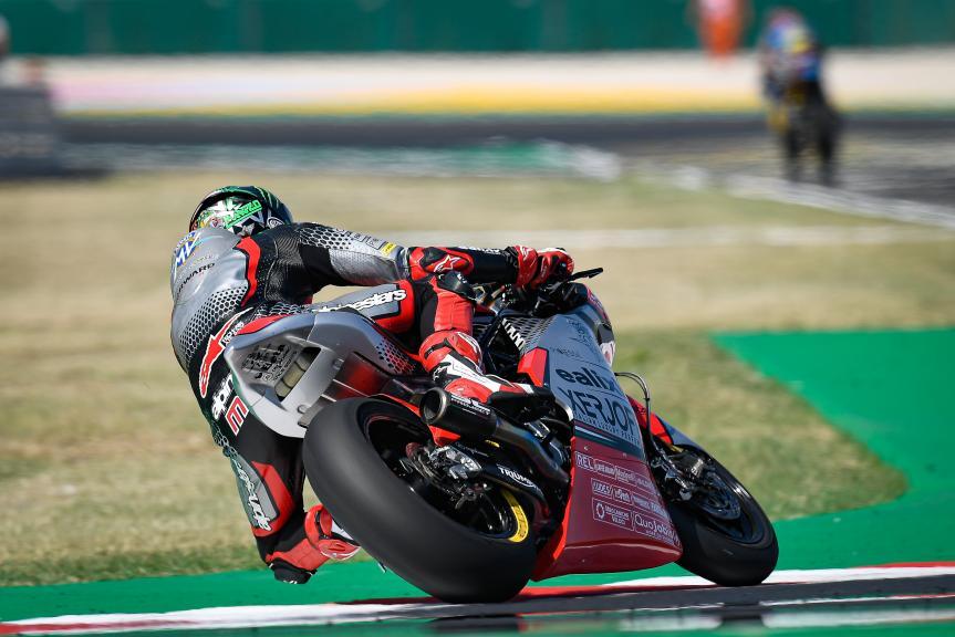 Stefano Manzi, MV Agusta Temporary Forward, Gran Premio Lenovo di San Marino e della Riviera di Rimini