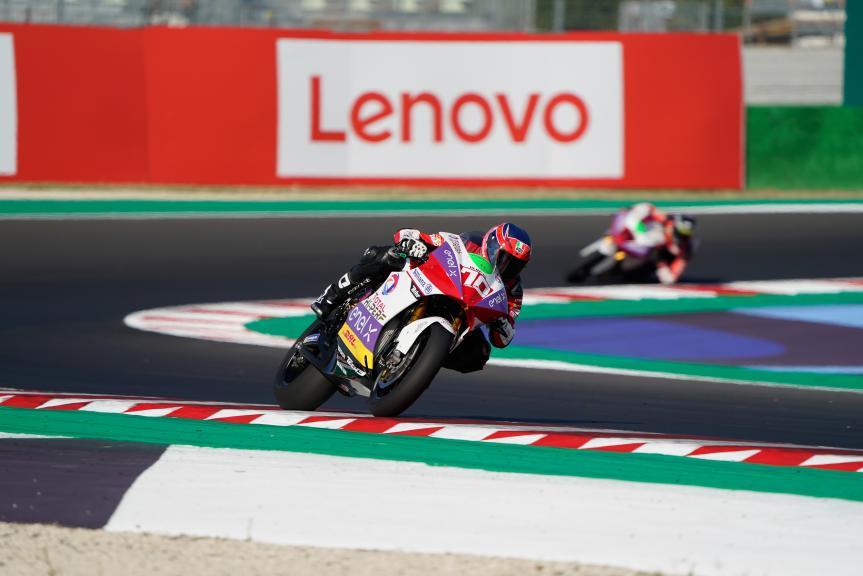 Tommaso Marcon, Tech3 E-Racing, Gran Premio Lenovo di San Marino e della Riviera di Rimini