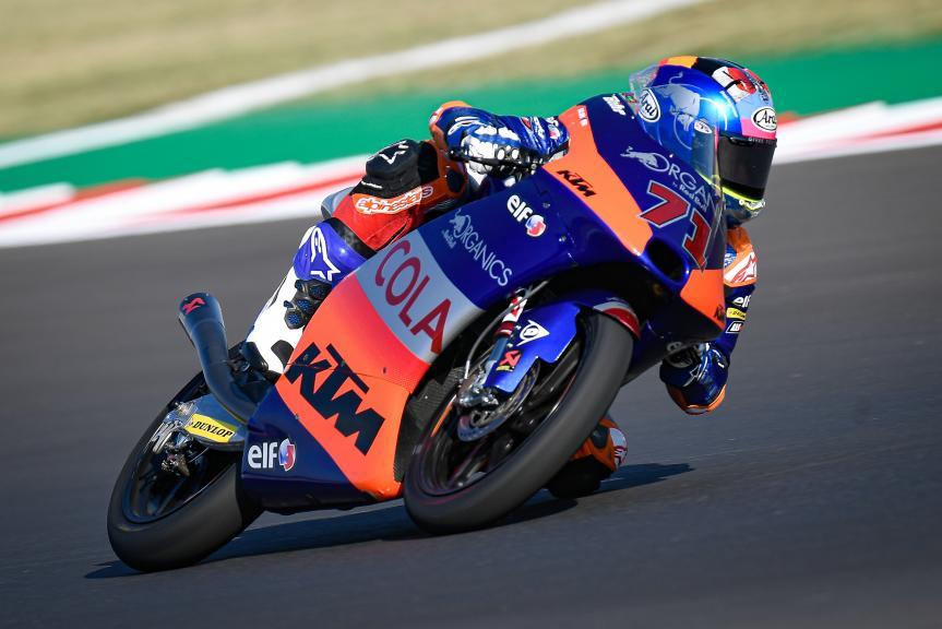 Ayumu Sasaki, Red Bull KTM Tech 3, Gran Premio Lenovo di San Marino e della Riviera di Rimini