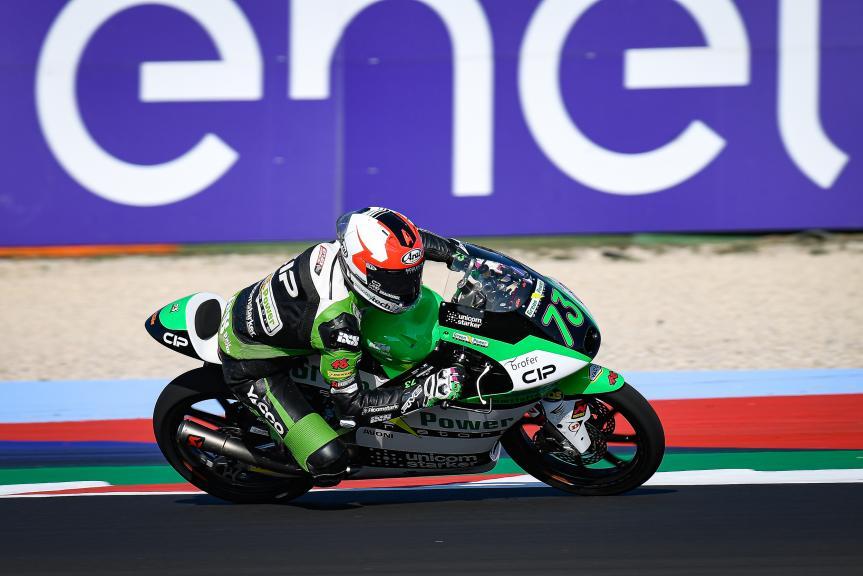Maximilian Kofler, CIP Green Power, Gran Premio Lenovo di San Marino e della Riviera di Rimini