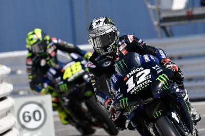 ¿Quién puede plantar cara a las Yamaha en la carrera?