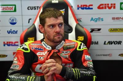 Crutchlow, declarado 'unfit' para el GP de San Marino