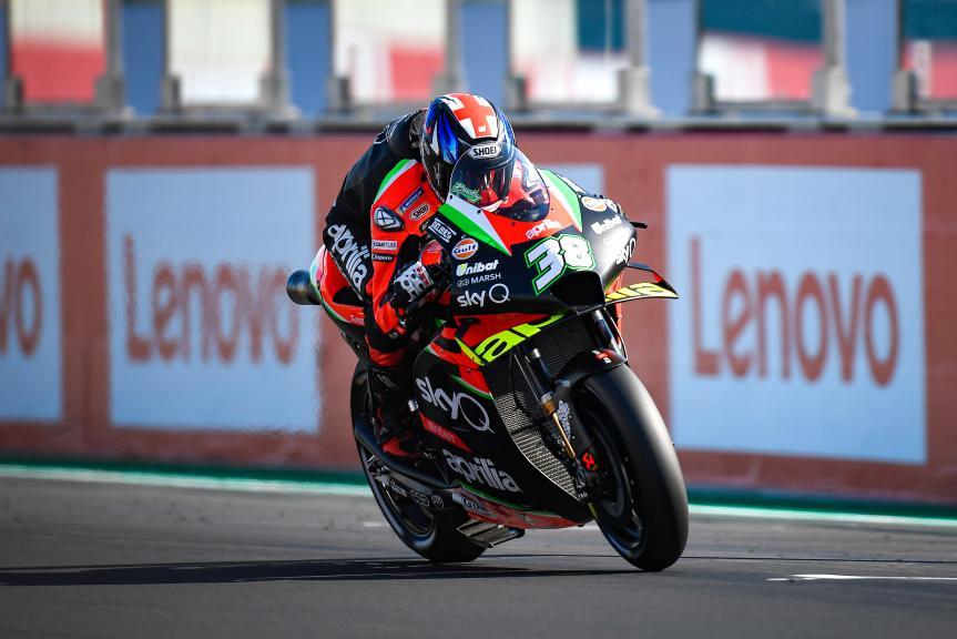 Bradley Smith, Aprilia Racing Team Gresini, Gran Premio Lenovo di San Marino e della Riviera di Rimini