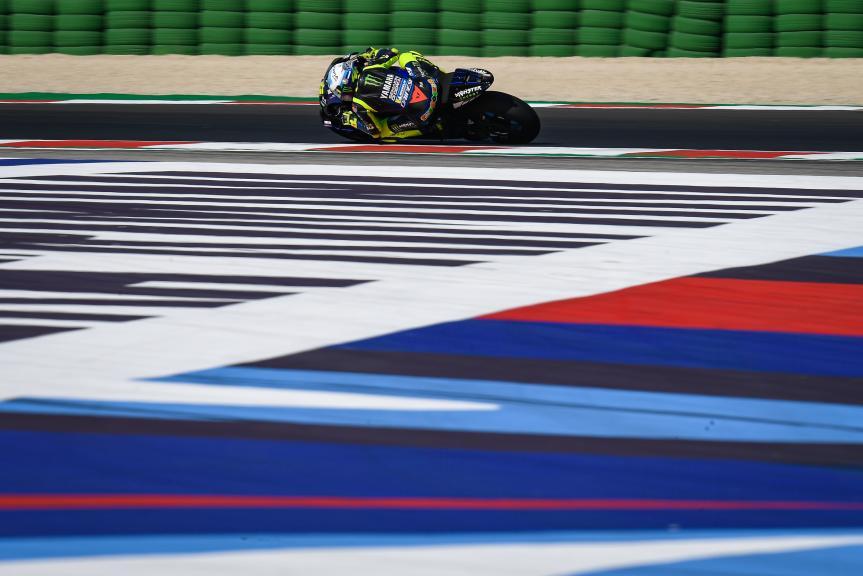 Valentino Rossi, Monster Energy Yamaha MotoGP, Gran Premio Lenovo di San Marino e della Riviera di Rimini