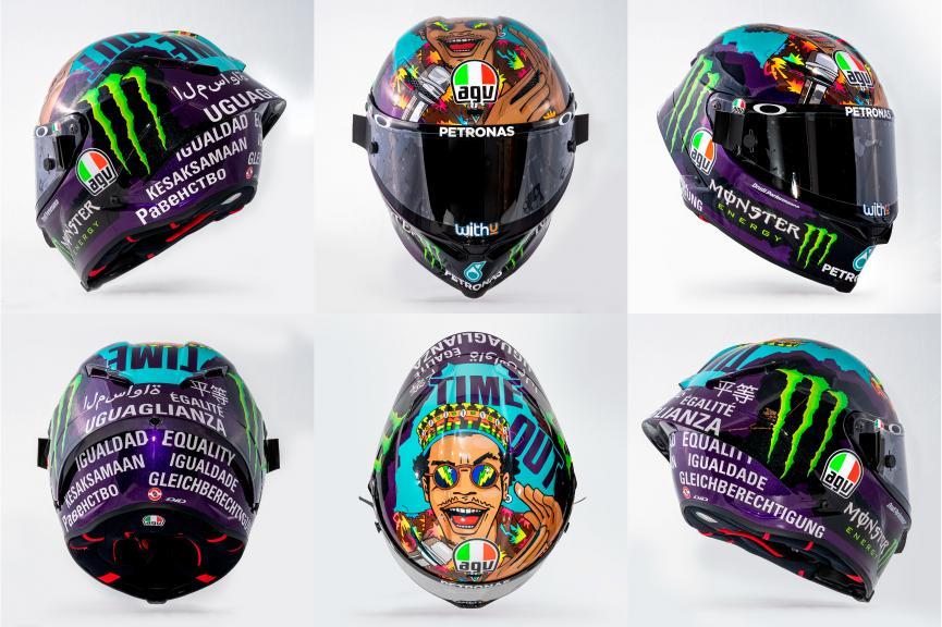 Morbidelli Misano helmet