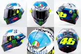 Rossi Misano new helmet