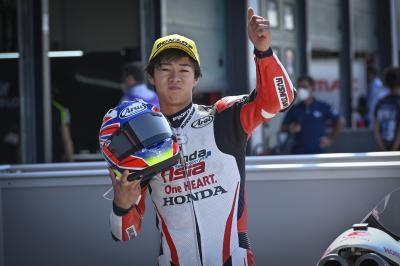 GP de Saint-Marin – Moto3™: Ogura ouvre son compteur à pole