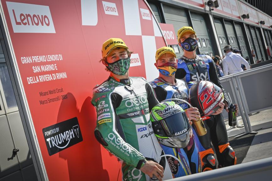 Sam Lowes, Remy Gardner, Luca Marini, Gran Premio Lenovo di San Marino e della Riviera di Rimini