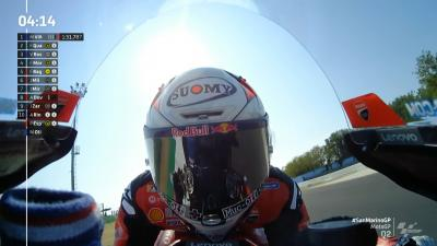 FREE VIDEO! Last 5 minutes of MotoGP™ Q2 at Misano