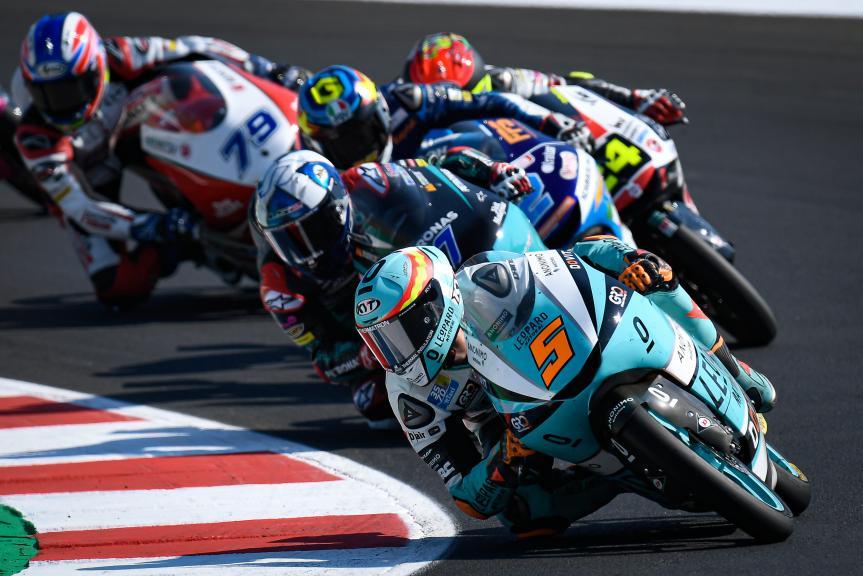 Jaume Masia, Leopard Racing, Gran Premio Lenovo di San Marino e della Riviera di Rimini