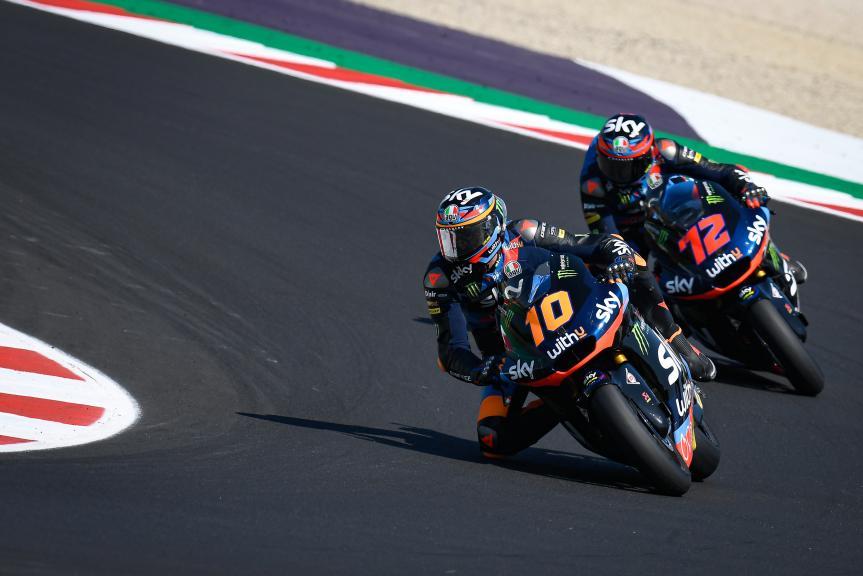 Marini, Bezzecchi, SKY Racing Team Vr46, Gran Premio Lenovo di San Marino e della Riviera di Rimini