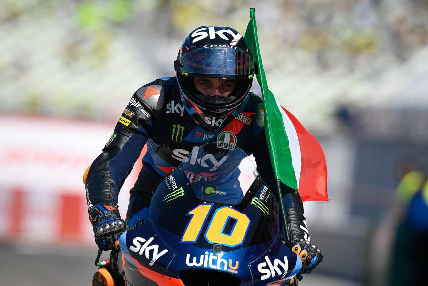 Luca Marini, SKY Racing Team Vr46, Gran Premio Lenovo di San Marino e della Riviera di Rimini