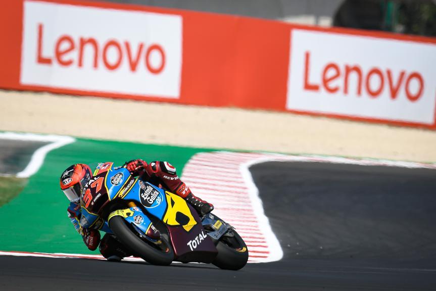 Augusto Fernandez, EG 0,0 Marc VDS, Gran Premio Lenovo di San Marino e della Riviera di Rimini