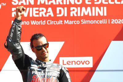 ¿Qué siente Morbidelli al alcanzar la cima en MotoGP™?