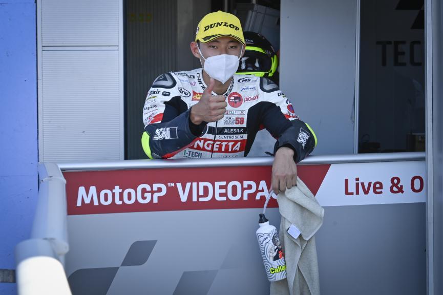 Tatsuki Suzuki, Sic58 Squadra Corse, Gran Premio Lenovo di San Marino e della Riviera di Rimini