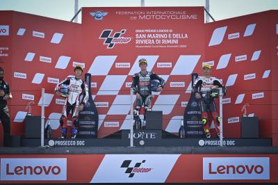 """It's an absolute dream come true"" - Moto3™ rostrum round-up"