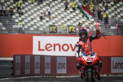 Bagnaia salva la Ducati al GP di San Marino