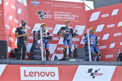 """It's the best win of my life"" - Moto2™ rostrum round-up"