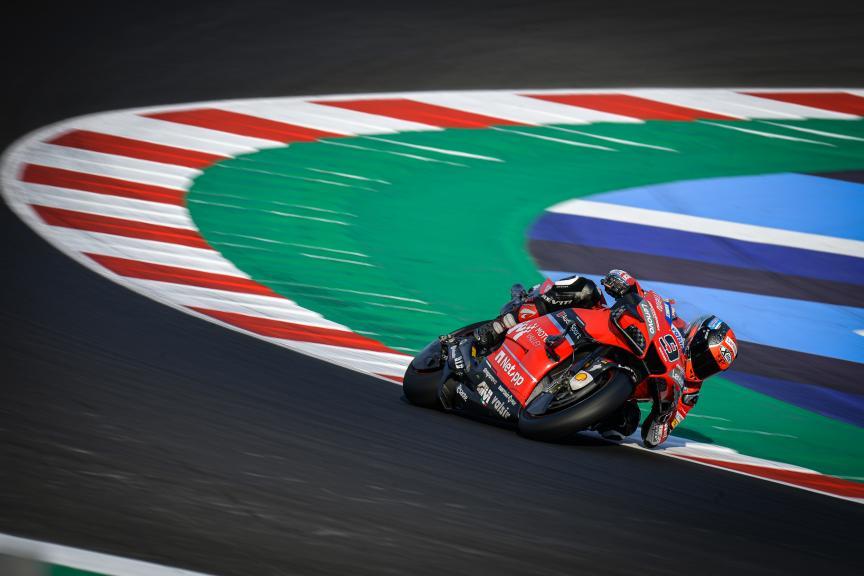 Danilo Petrucci, Ducati Team, Misano MotoGP™ Official Test
