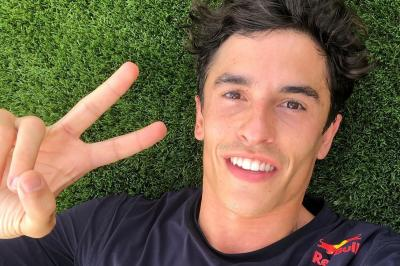Marc Marquez returns to training, 6 weeks post operation