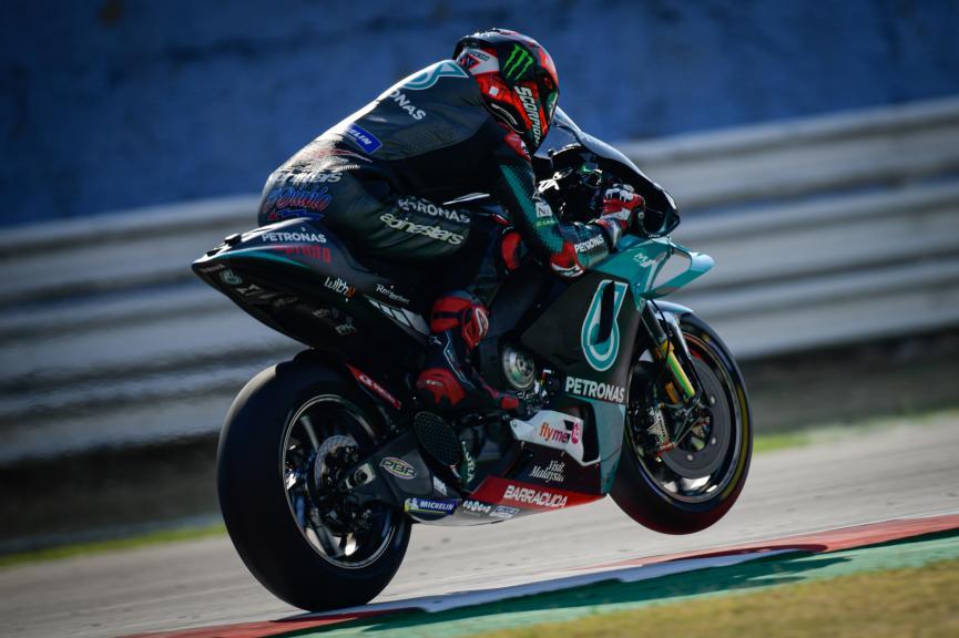 Fabio Quartararo, Petronas Yamaha SRT, Misano MotoGP™ Official Test