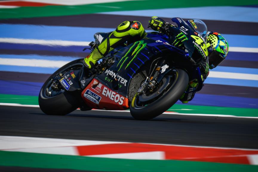 Valentino Rossi, Monster Energy Yamaha MotoGP, Misano MotoGP™ Official Test