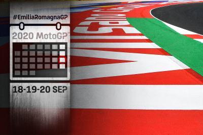 Gli appuntamenti del Gran Premio dell'Emilia-Romagna