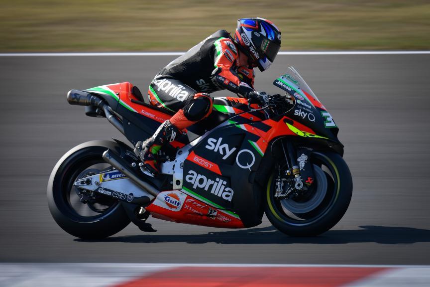Bradley Smith, Aprilia Racing Team Gresini, Misano MotoGP™ Official Test