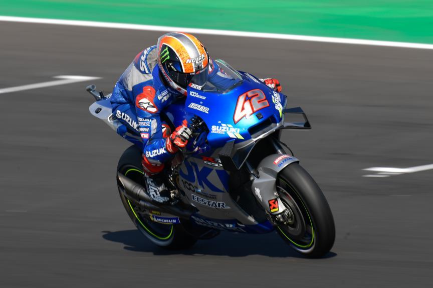 Alex Rins, Team Suzuki Ecstar, Misano MotoGP™ Official Test