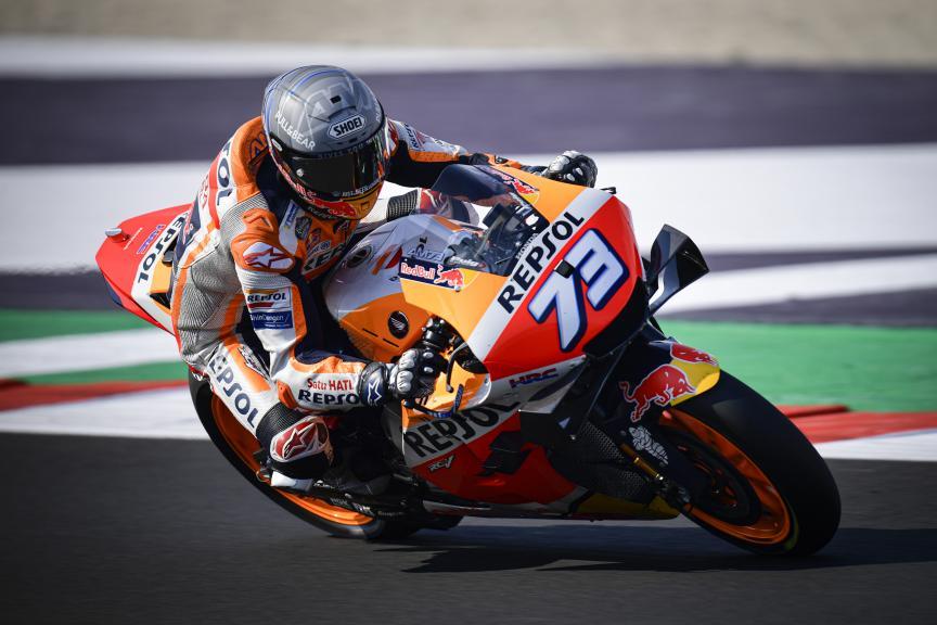 Alex Marquez, Repsol Honda Team, Misano MotoGP™ Official Test