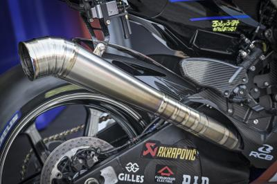 What did Viñales think of Yamaha's new exhaust?